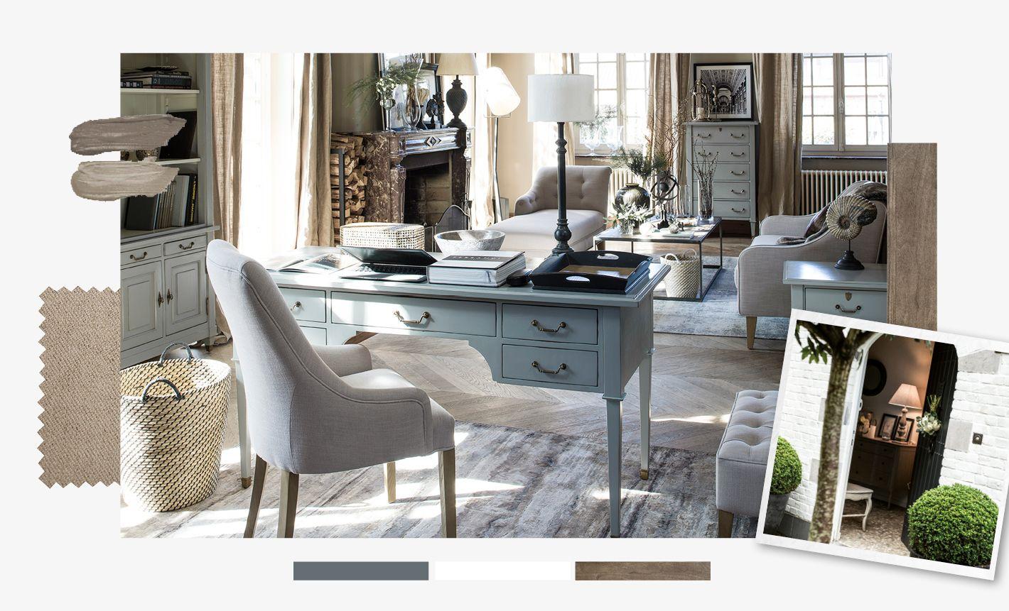 Canapé Campagne Chic Pas Cher style classique chic : meuble classique chic - interior's