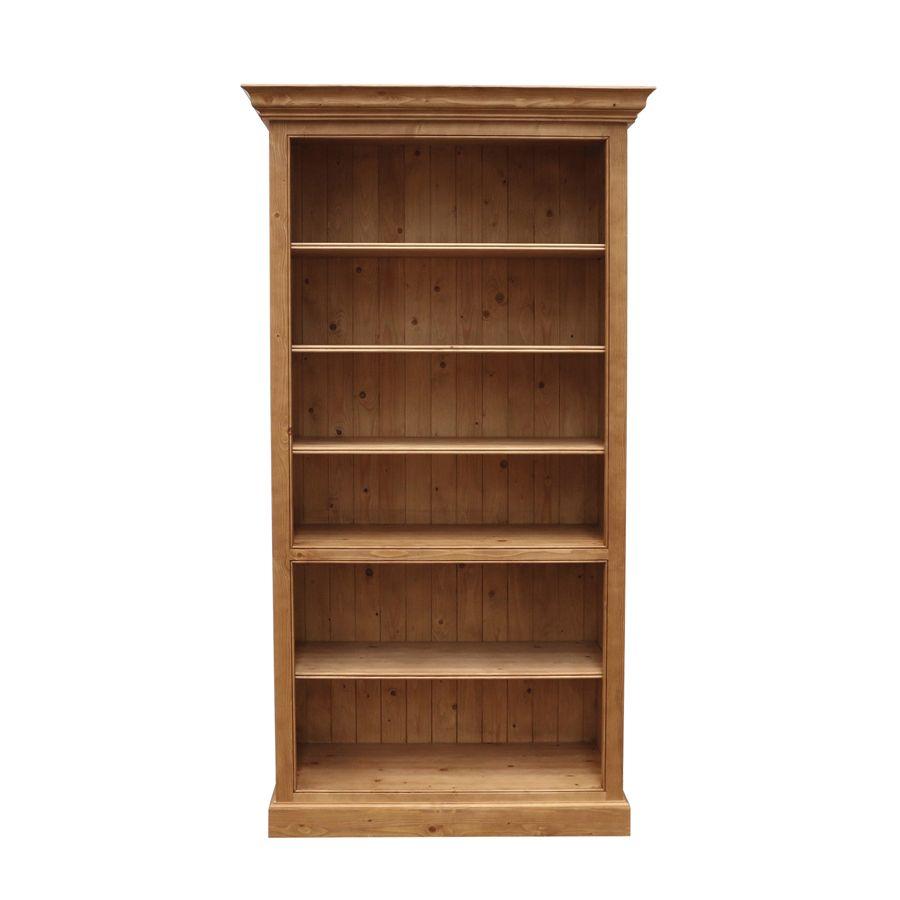 Bibliothèque modulable en épicéa H212 cm - Natural