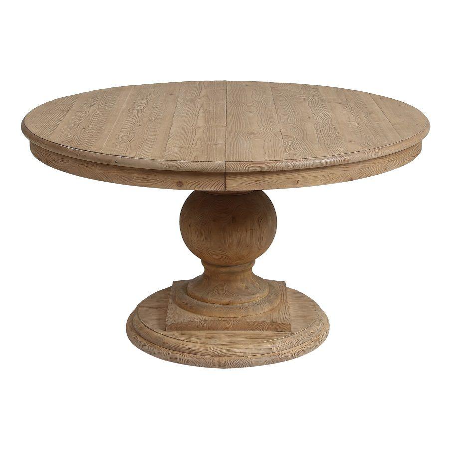 Table ronde extensible en épicéa 8 personnes - Héritage