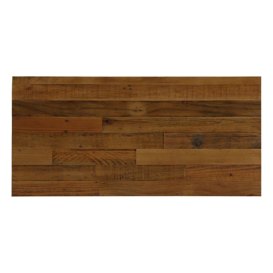 Commode industrielle 3 tiroirs en bois recyclé - Empreintes