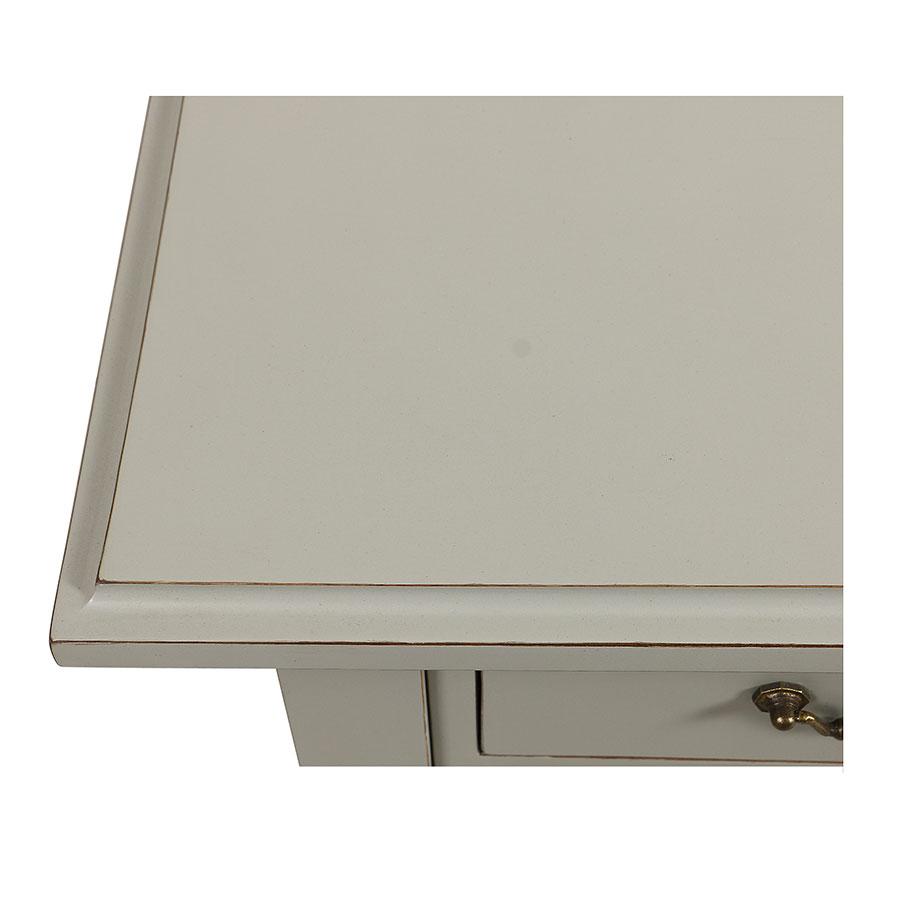 Bureau 5 tiroirs en acacia massif - Cénacle