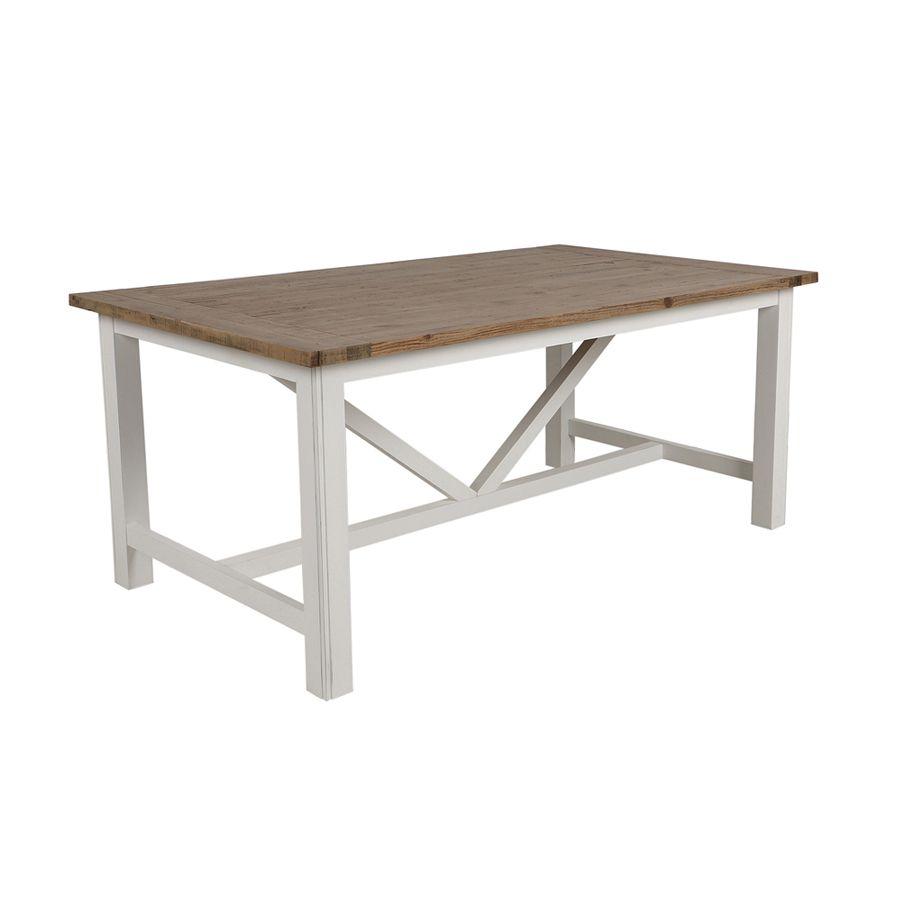 Table à manger rectangulaire 6 à 8 personnes - Rivages