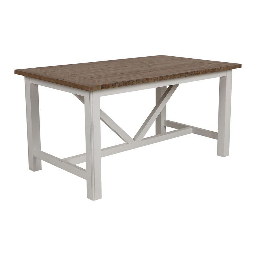 Table à manger rectangulaire 4 à 6 personnes - Rivages