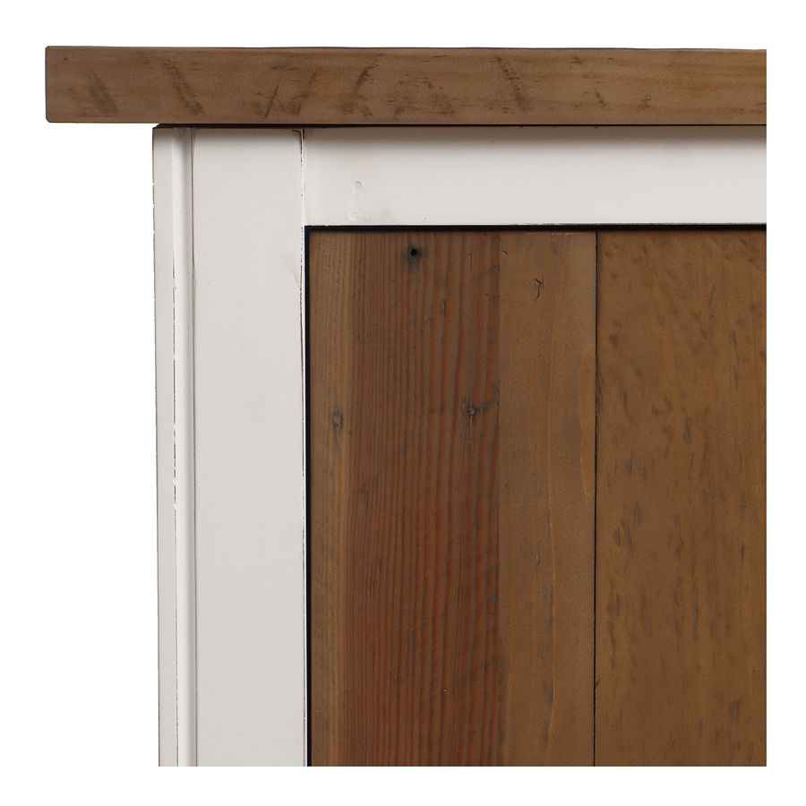 Lit 160x200 blanc avec tiroirs - Rivages