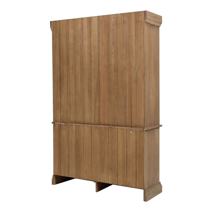 Buffet vitré en bois et métal - Demeure