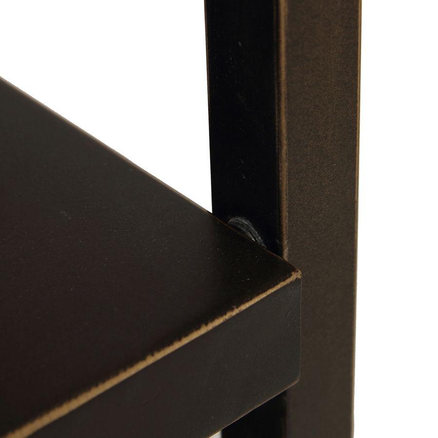 Bout de canapé en bois et métal - Demeure