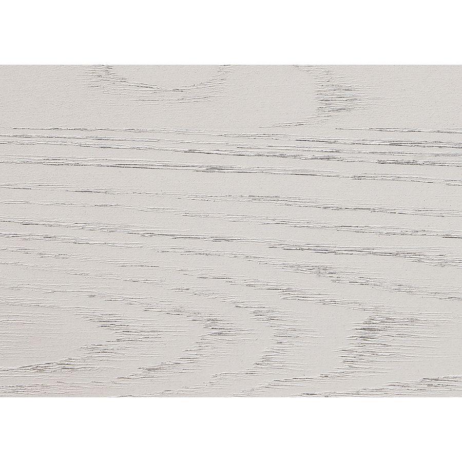 Banc coffre en frêne massif blanc et métal - Demeure