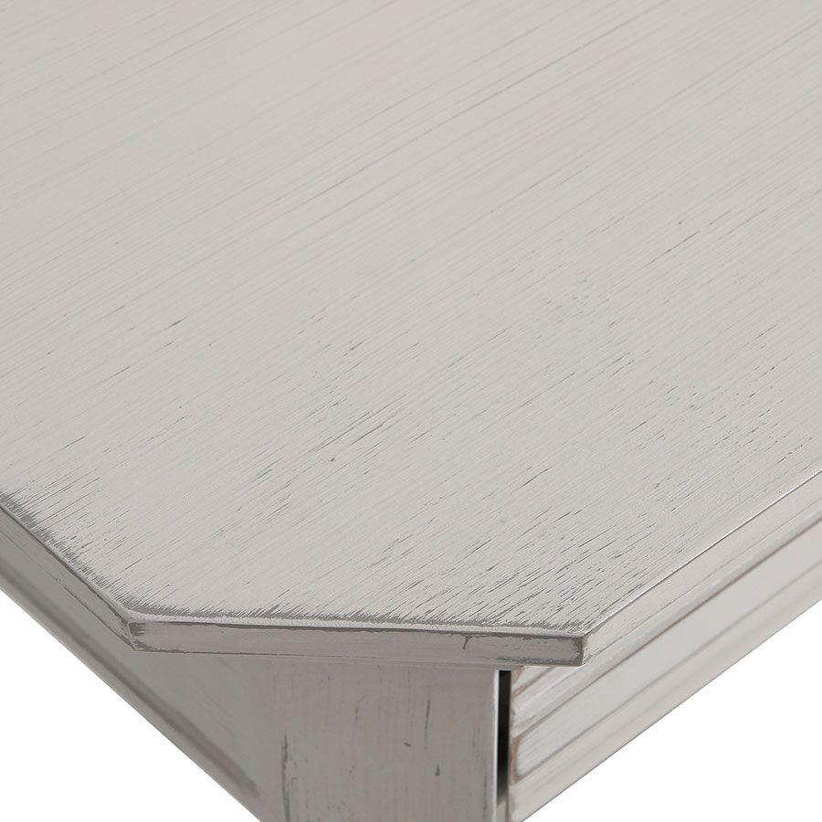 Console lin vieilli 3 tiroirs - Bruges