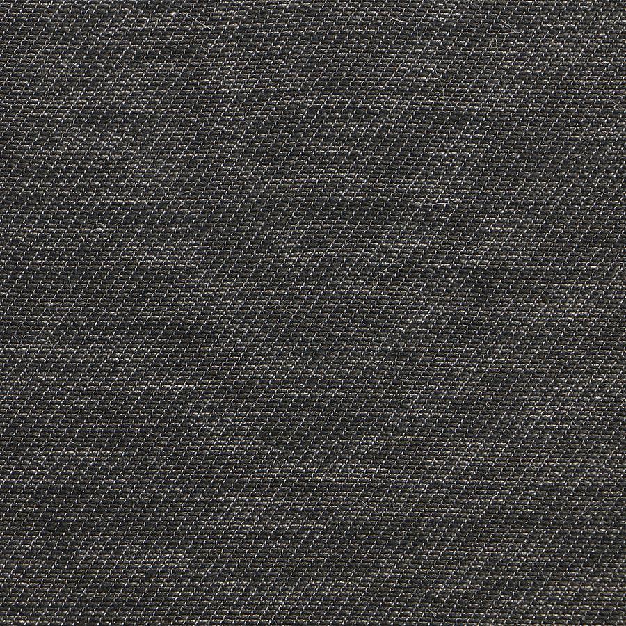 Fauteuil bergère en frêne blanc et tissu feuilles noires - Bruges