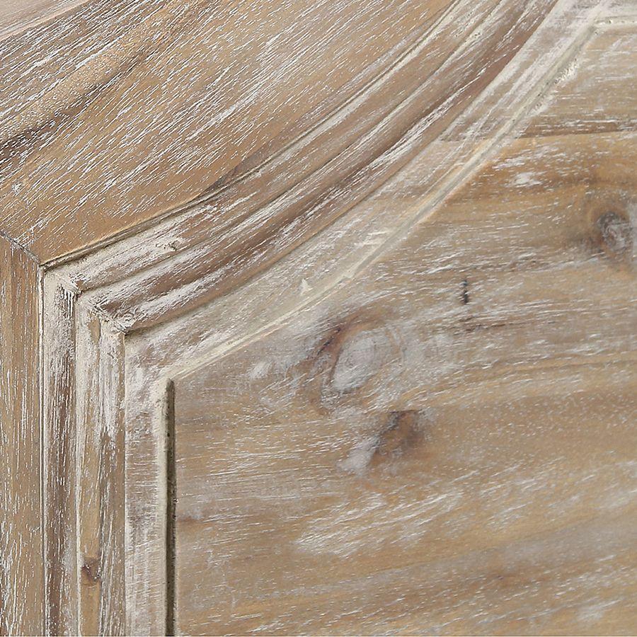 Commode 3 tiroirs en acacia massif - Chenonceau