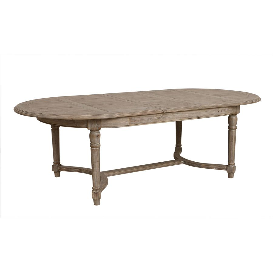 Table à manger extensible en acacia 12 à 14 personnes - Chenonceau