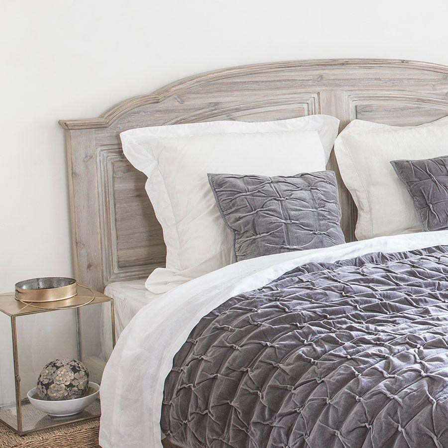 Tête de lit 180 en acacia massif - Chenonceau