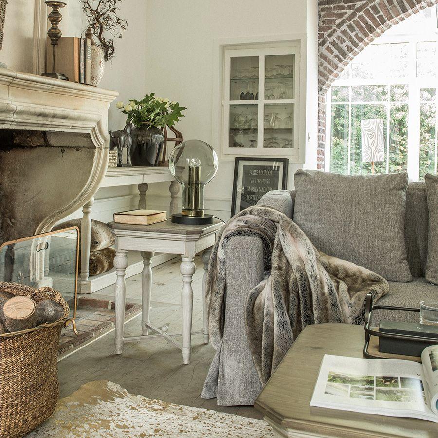 Bout de canapé en épicéa massif - Amboise