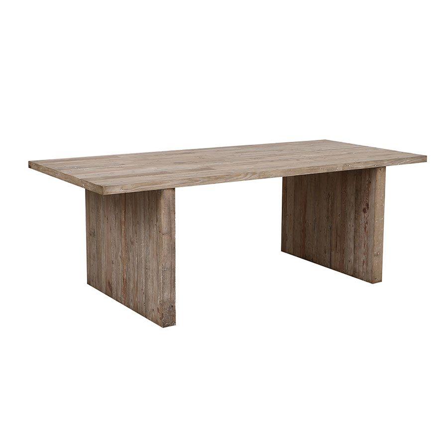 Table à manger en pin 8 à 10 personnes - Embruns
