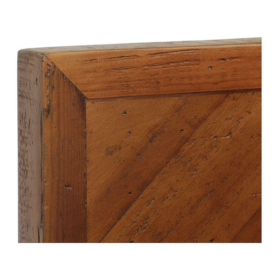 Lit 140x190 en bois recyclé - Empreintes