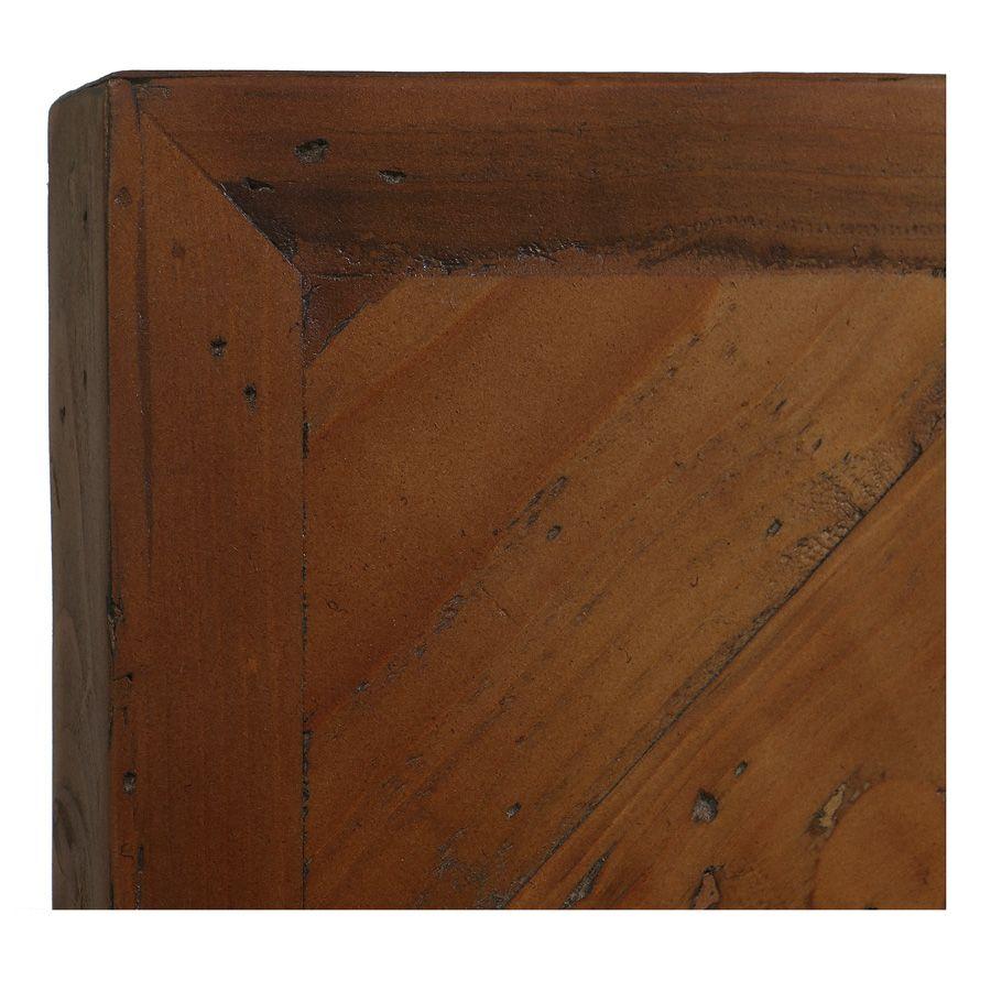 Lit 160x200 en bois recyclé - Empreintes