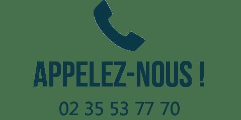 Appelez-nous ! 02 35 53 77 70