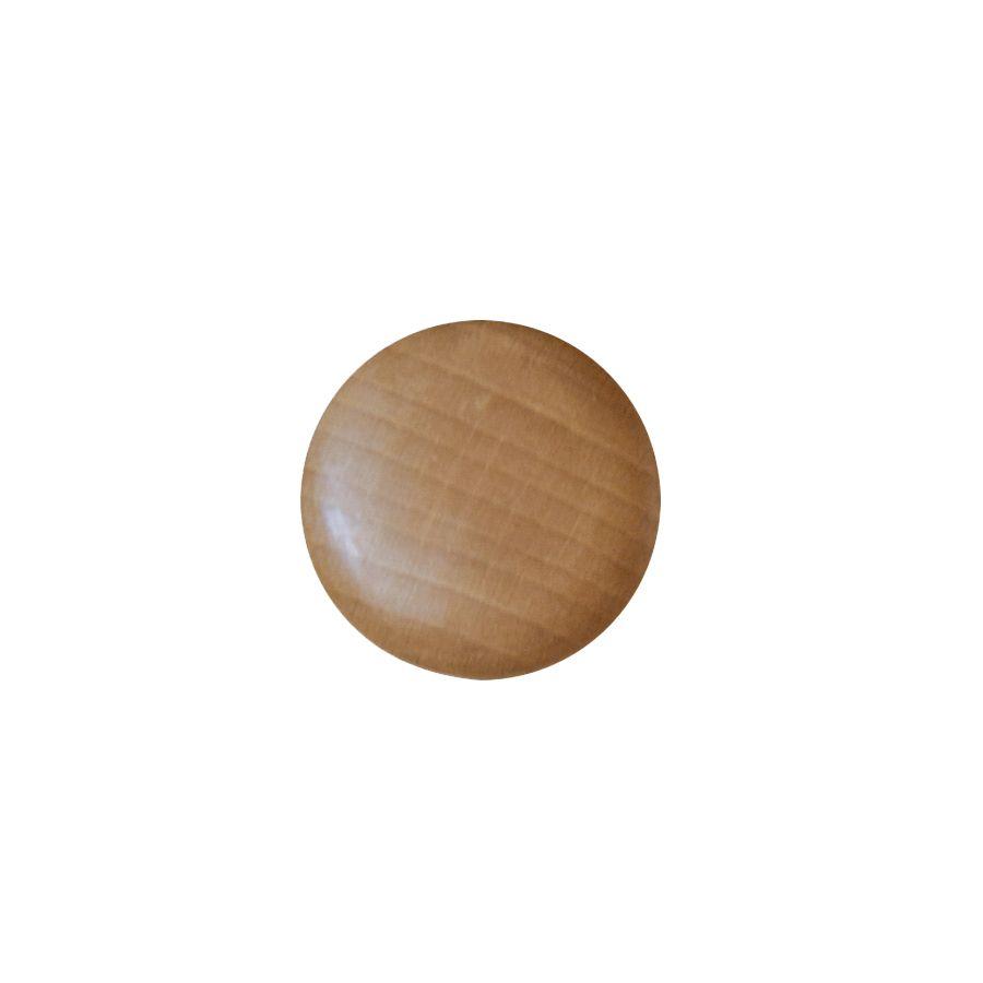 Bouton de meuble d43 mm en hêtre