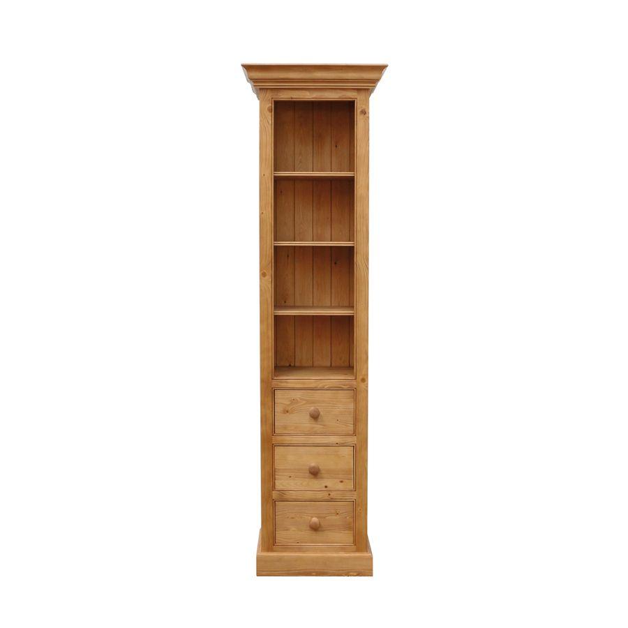 Colonnes 3 tiroirs - Bibliothèques - Natural