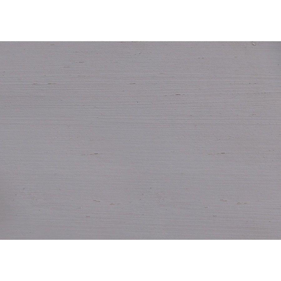 Meuble bas de cuisine 4 bacs en pin gris perle - Brocante