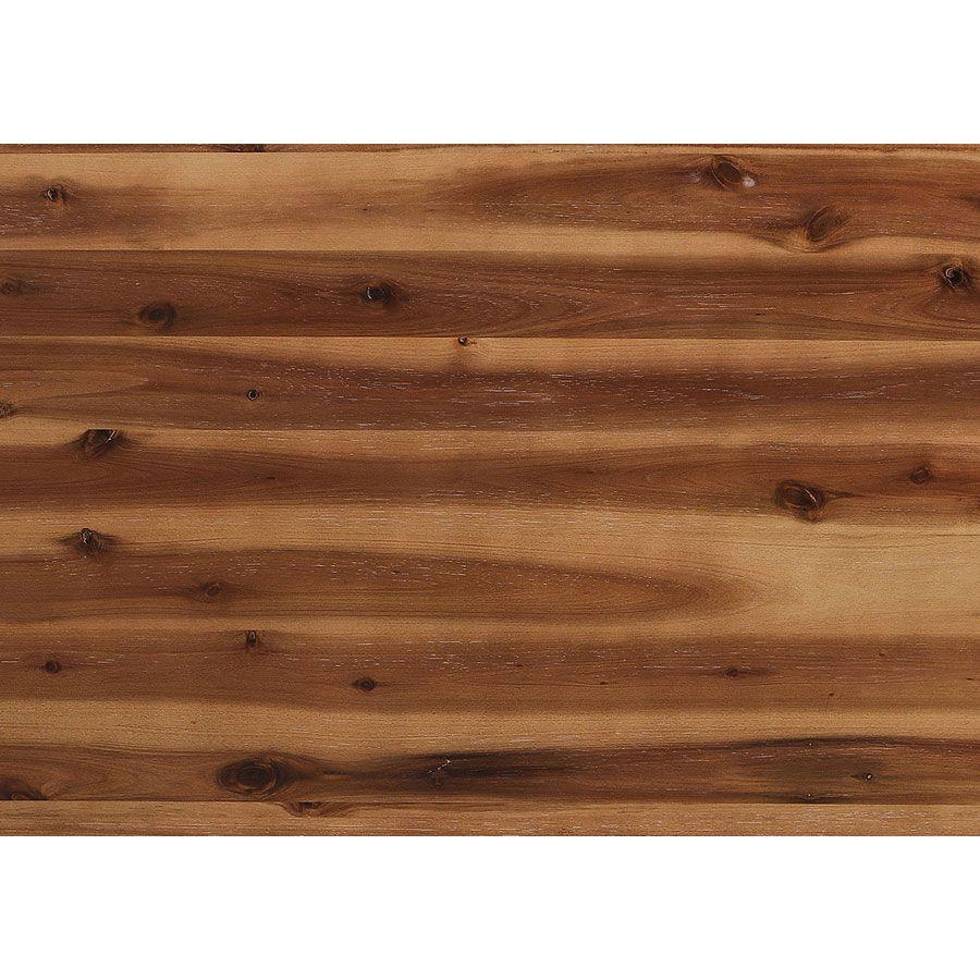 Plan de travail en pin massif châtain clair L60 cm - Brocante