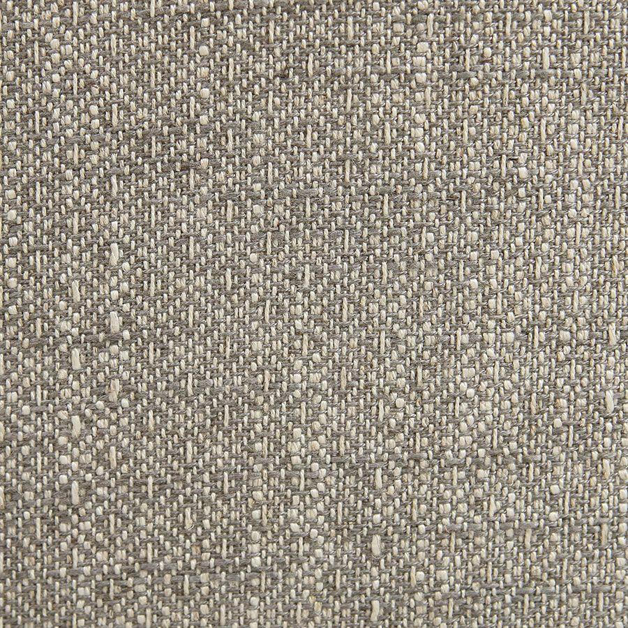 Fauteuil bridge en tissu losange gris - Ernest