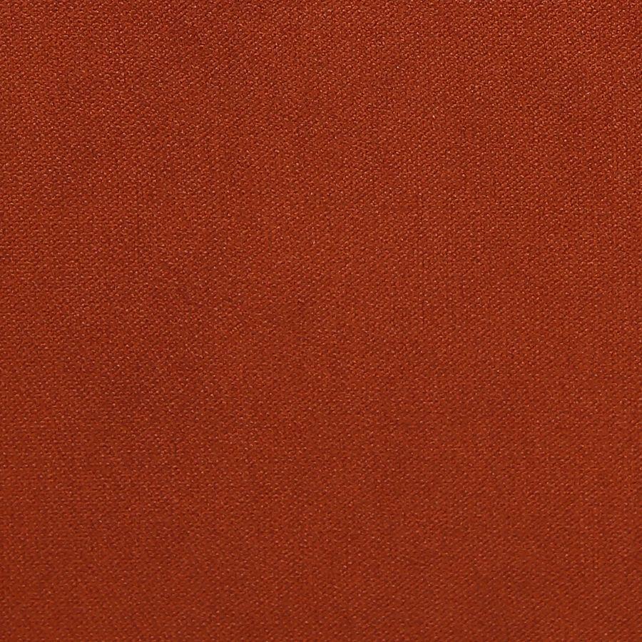 Banquette 2 places en frêne massif et tissu Velours rouille - Clarence