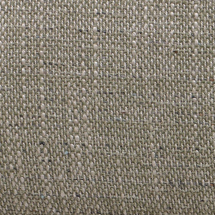 Fauteuil bergère en hévéa et tissu vert amande - Césarine
