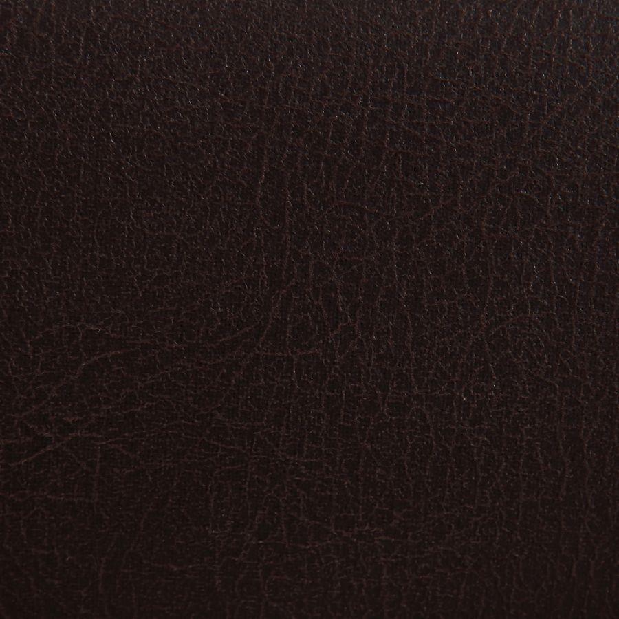 Fauteuil de table en éco-cuir chocolat - Jude