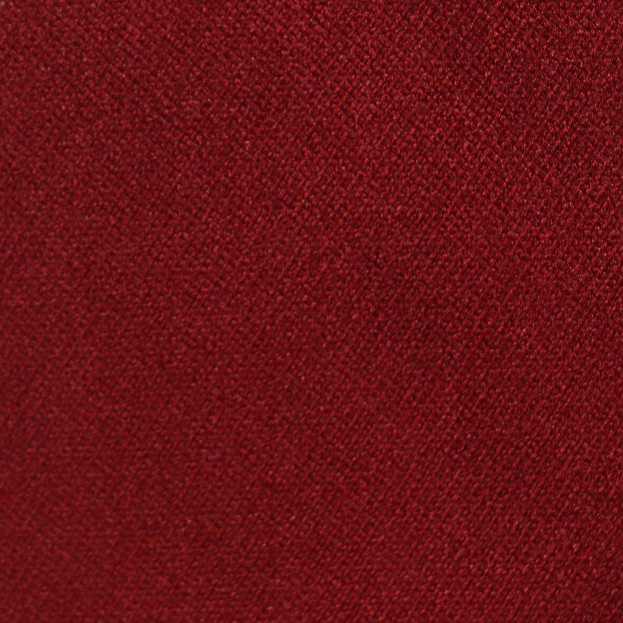 Chaise capitonnée en tissu velours lie de vin - Albane