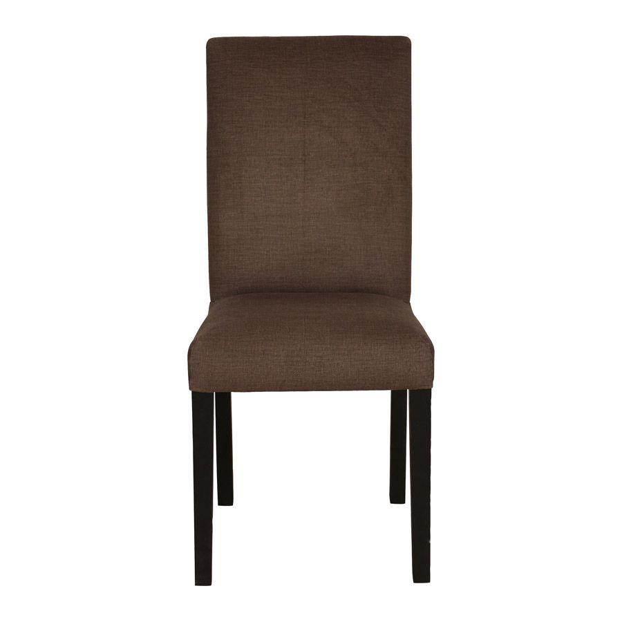 Chaise en hévéa massif - Romane