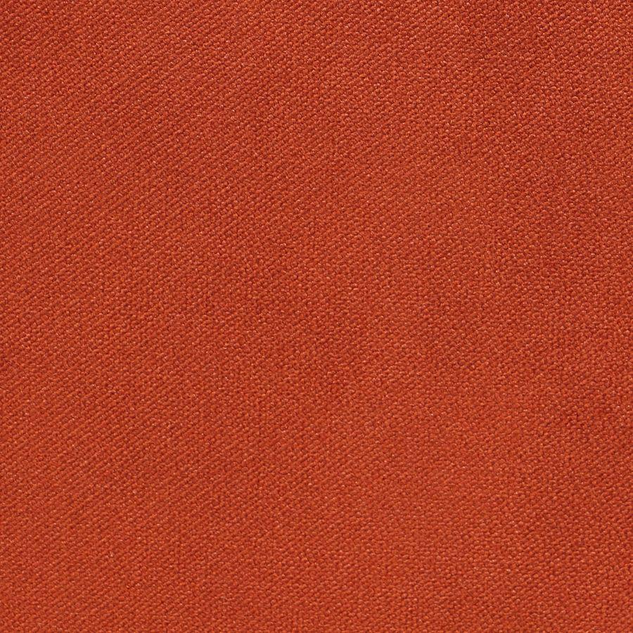 Chaise en tissu velours rouille et frêne massif - Romane