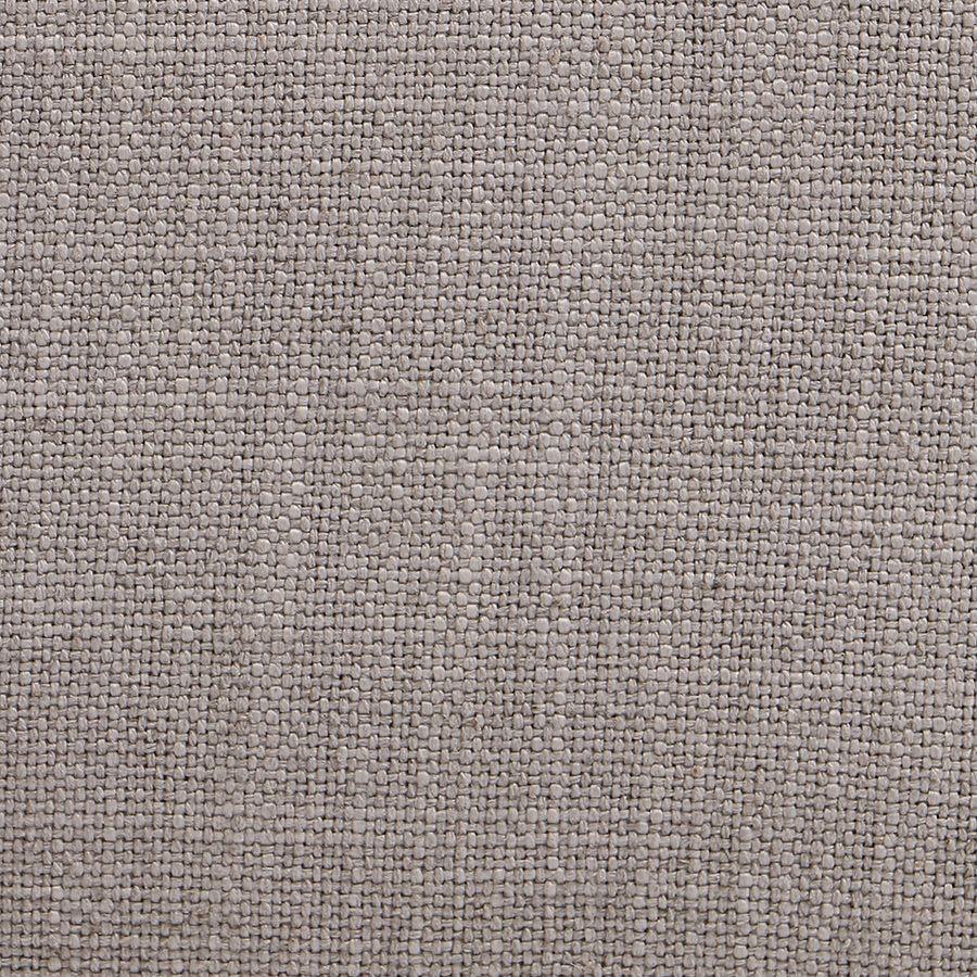Banquette 2 places en hévéa massif et tissu Lin beige - Apolline