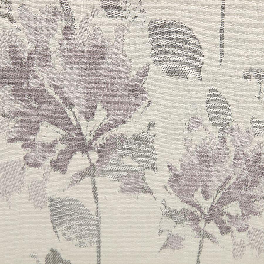 Banquette 2 places en tissu à motif fleuri et hévéa massif - Apolline