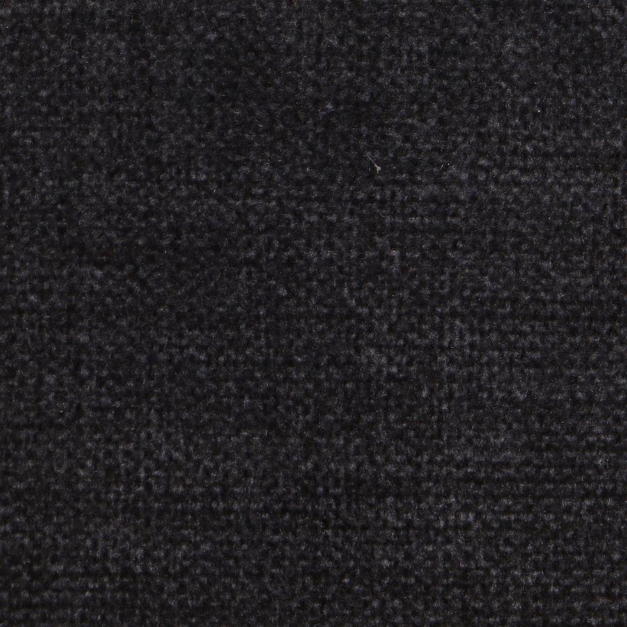 Fauteuil en hévéa et tissu anthracite - Louis