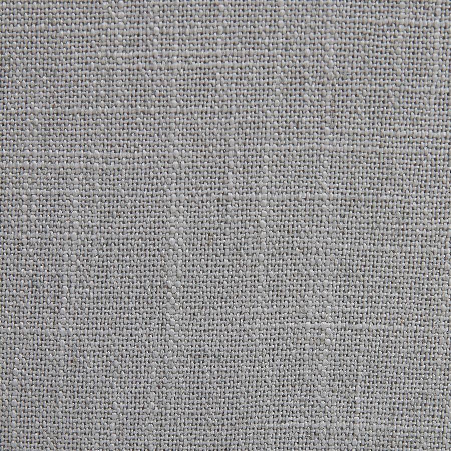 Fauteuil en hévéa noir et tissu bleu glacier - Louis