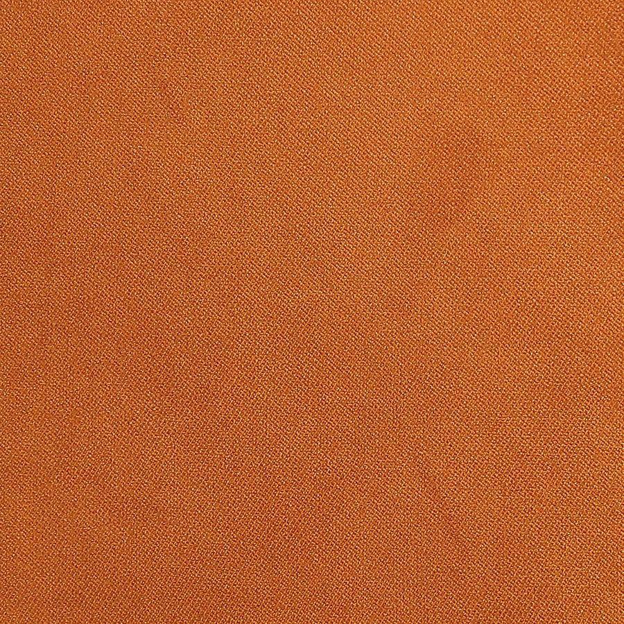 Fauteuil cabriolet en hévéa et tissu velours jaune safran - Constant