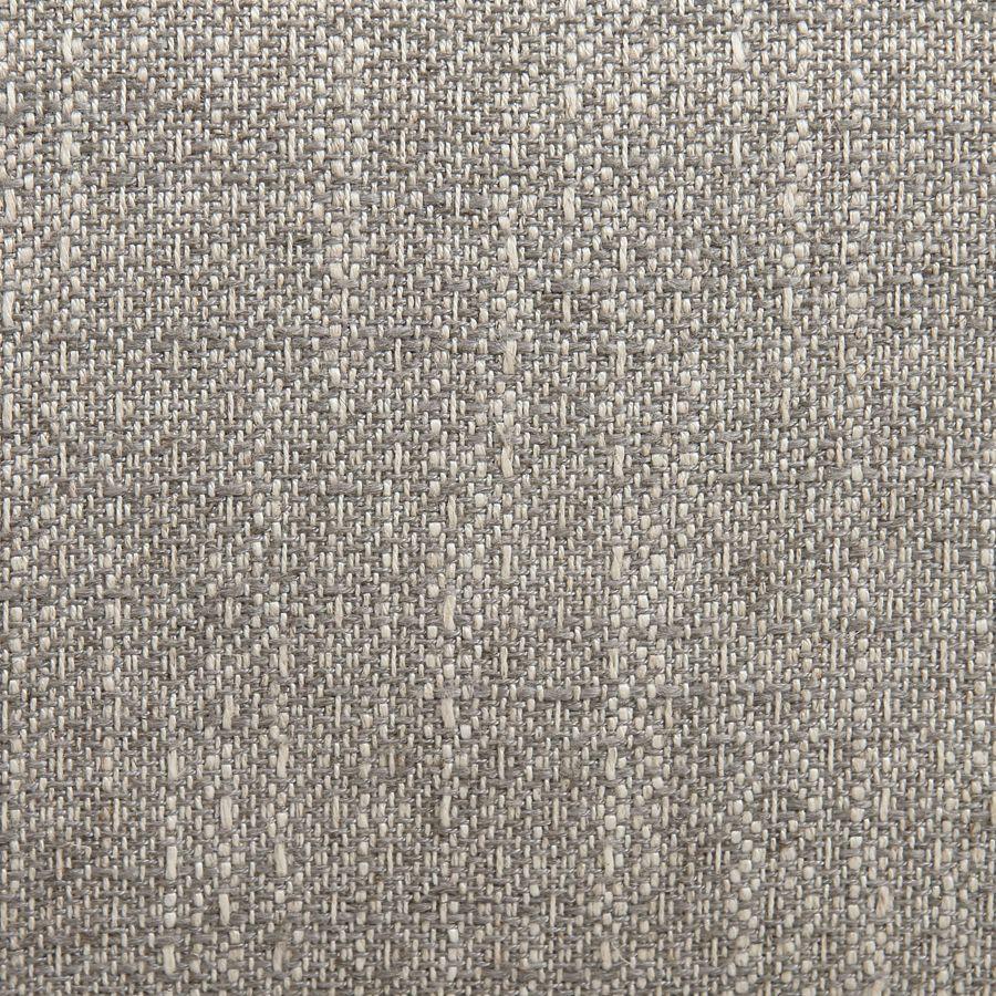 Fauteuil en frêne et tissu losange gris - Oscar