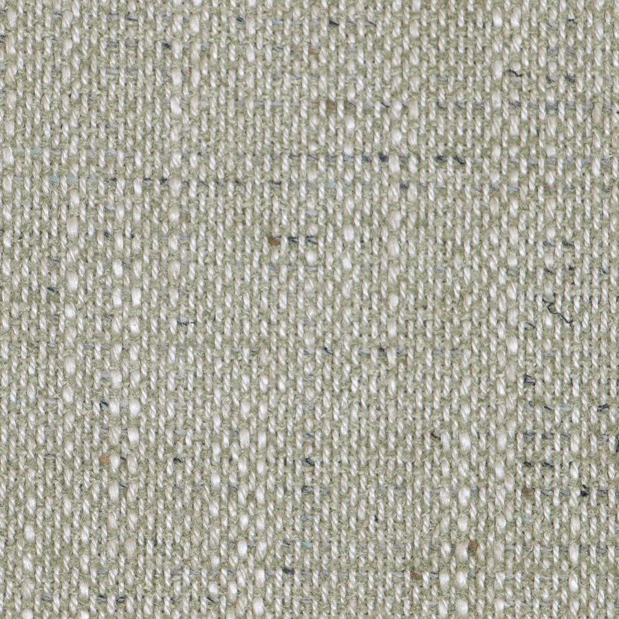 Fauteuil en tissu vert amande et frêne massif - Oscar