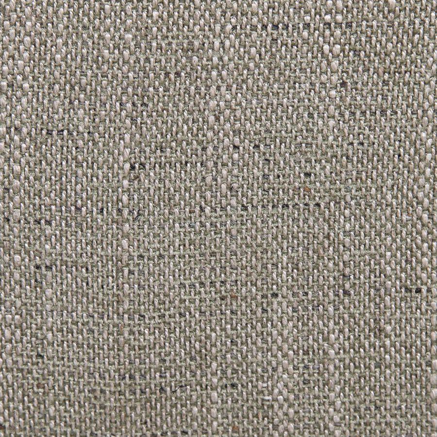 Fauteuil de table en tissu vert amande - Joseph