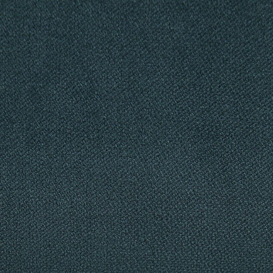 Fauteuil en frêne et velours vert bleuté - Émile