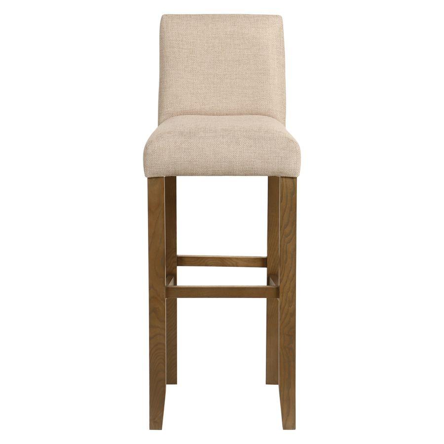 Chaise haute personnalisable en tissu ficelle - Ariane