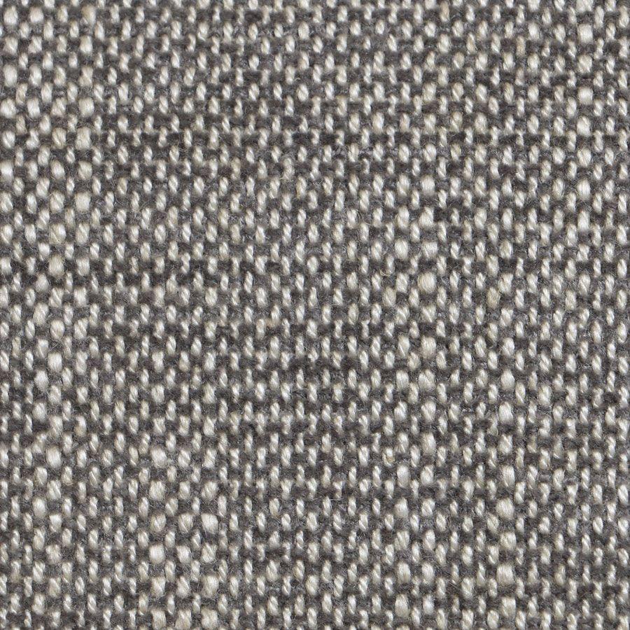 Chaise en tissu gris chambray - Honorine