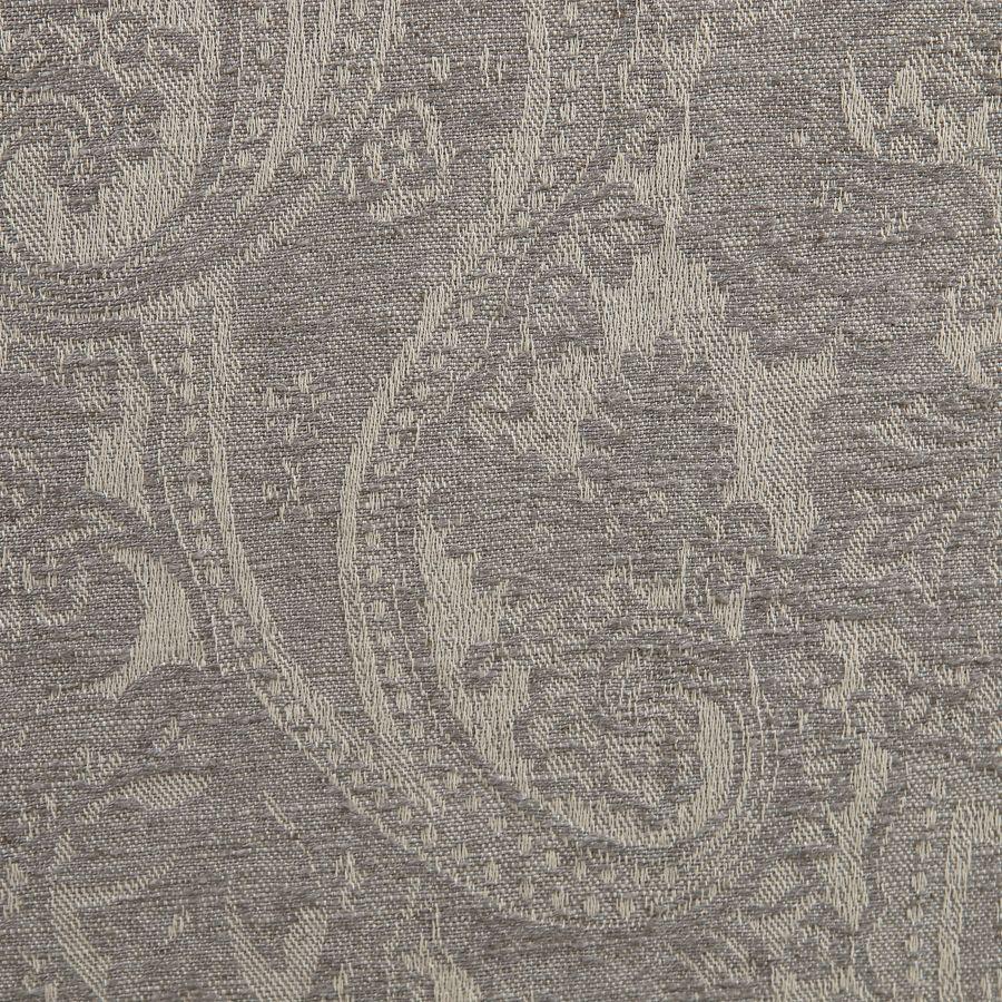 Banquette 3 places en tissu cachemire gris - Constance