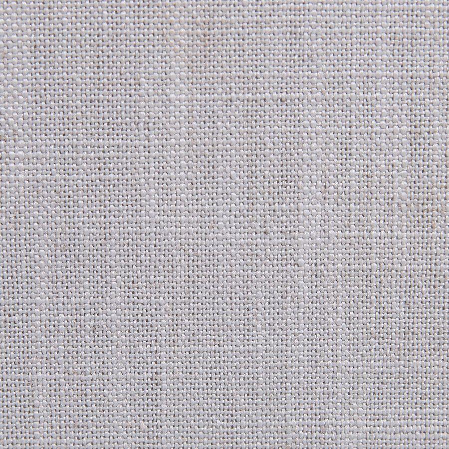 Banquette 3 places en bois blanc et tissu bleu glacier - Constance