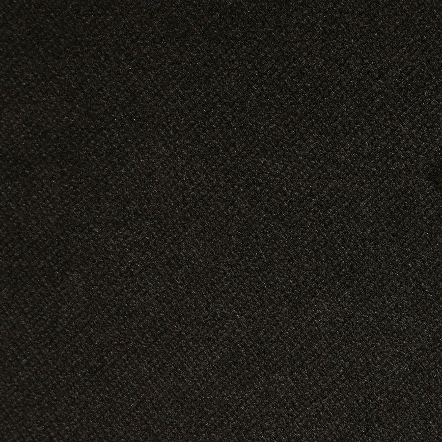Banquette 2 places en hévéa noir et velours kaki - Joséphine
