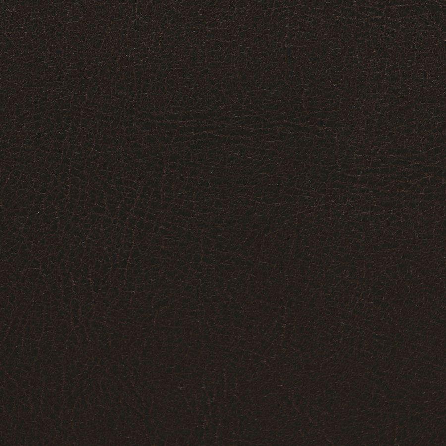 Banquette 2 places en tissu marron - Joséphine