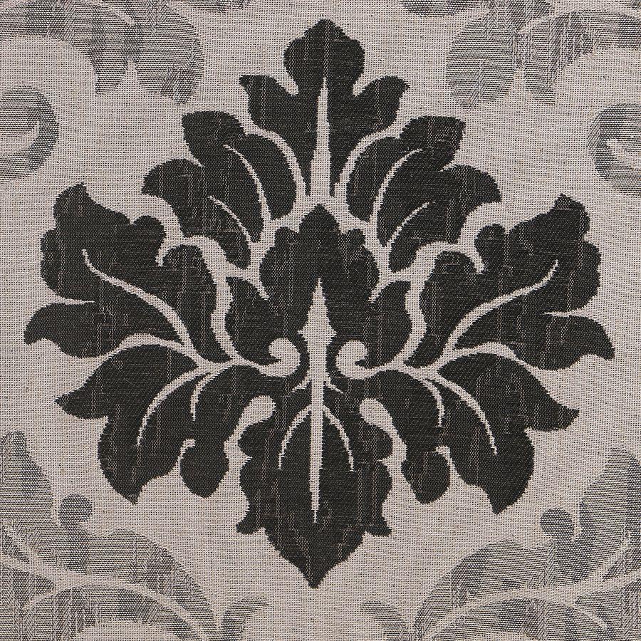 Fauteuil en tissu Arabesque et finition Château - Auguste