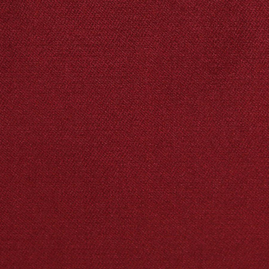 Fauteuil en velours lie de vin et hévéa massif noir - Auguste