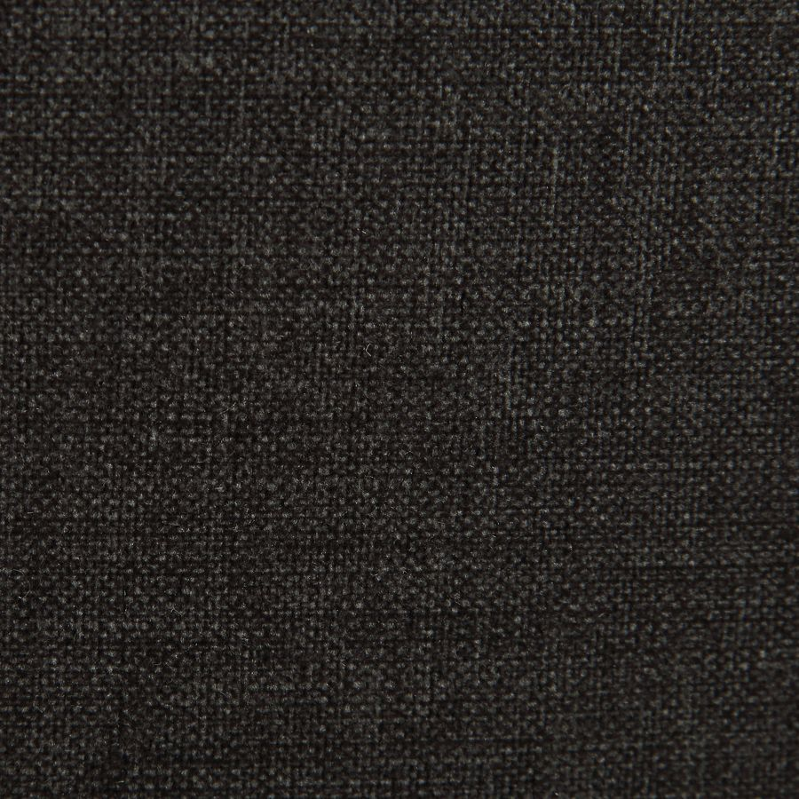 Fauteuil en tissu anthracite et finition romance - Auguste